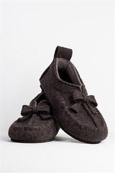 """Войлочные мокасины """"COMFY Soft"""" коричневые - фото 11373"""