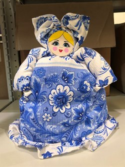"Кукла - грелка на чайник ""Любаша"" - фото 11757"