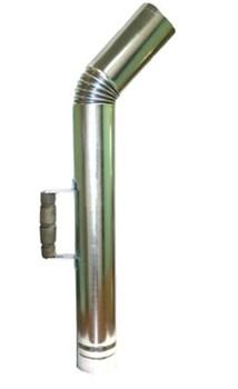 Труба для растопки самовара (оцинкованная) - фото 5884