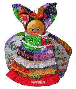 "Кукла - грелка на чайник ""Дуняша"""
