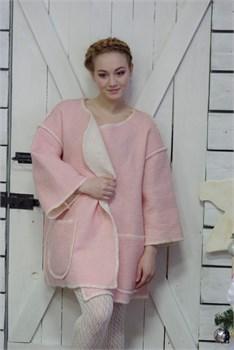 """Женское пальто из шерсти мериносов """"Романа"""" - фото 8718"""