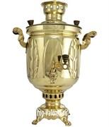 Самовар комбинированный 5 л «Золотой лист»