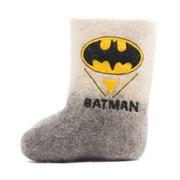"""Валенки детские с вышивкой """"Бэтмен"""" ручной работы"""