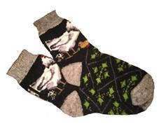 Носки мужские с рисунком