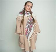 """Женское пальто из шерсти мериносов """"Рамина"""""""