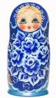 Матрешка — самый желанный сувенир из России, известный во всем мире.