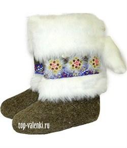 """Валенки женские эксклюзивные  """"Аленушка"""" - фото 10257"""