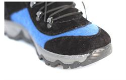 Войлочные кроссовки, синий - фото 11039