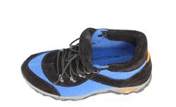 Войлочные кроссовки, синий - фото 11044