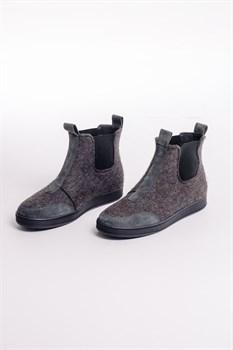 """Войлочные ботинки """"Артемий"""" серые - фото 14047"""