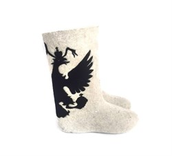 """Валенки мужские """"Трехглавый орел"""" ручной работы - sale - фото 14850"""