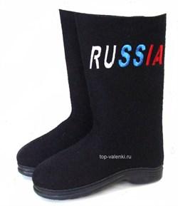 """Валенки мужские на подошве """"Россия"""" - фото 7017"""
