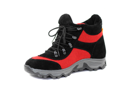 Войлочные кроссовки, красный