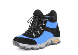 Войлочные кроссовки, синий - sale