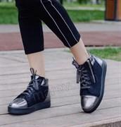 """Войлочные ботинки с отделкой натуральной кожи """"Николь"""""""